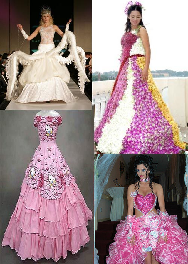 Unbelievable Wedding Dresses