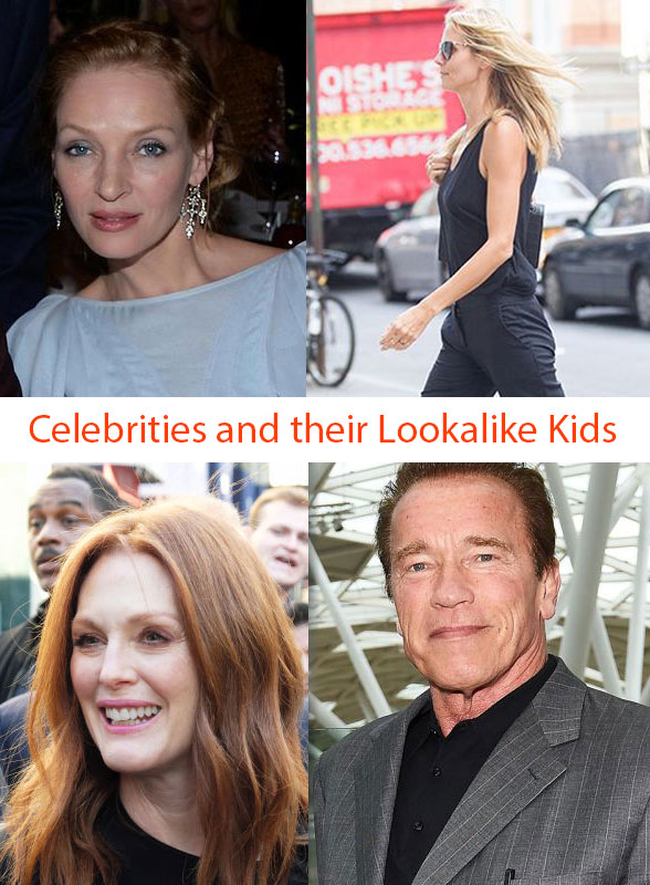 Celebrity Look Alike Kids