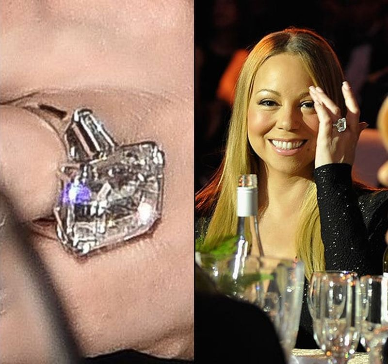 Mariah Carey James Packer Engagement Ring