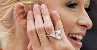 Paris Hilton 1 Engagement Ring
